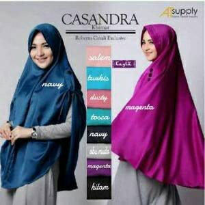 Jual Hijab Khimar Cassandra Jilbab Panjang Syari Cileunyi