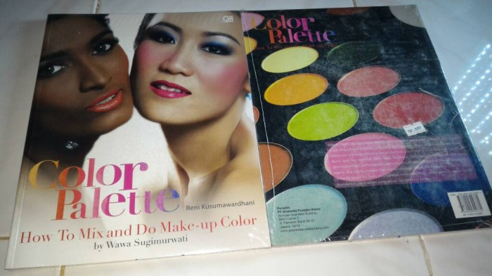harga Color palette: how to mix and do make-up color reni kusumawardhani Tokopedia.com