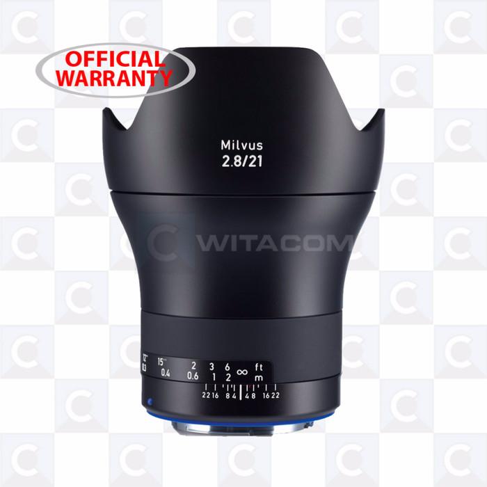 harga Zeiss milvus 2.8/21mm ze - canon Tokopedia.com