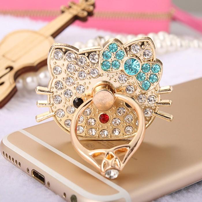 harga Iring hello kitty holder cincin hp handphone ring stand standing case Tokopedia.com