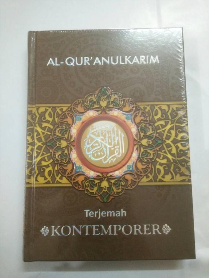 harga Al Quran Terjemah Kontemporer Al Mu'asir A5 Tokopedia.com