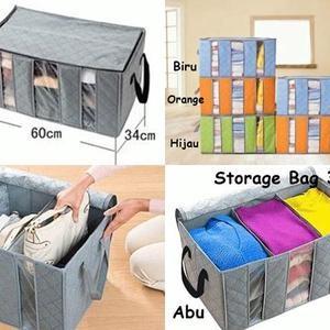 Cloth Organizer Motif Bunga/Tempat Baju/Storage Bag Simpan Penyimpanan. Source. ' Box / Tempat Baju 3 Ruang Cloth Organizer / Storage Murah di Jakarta