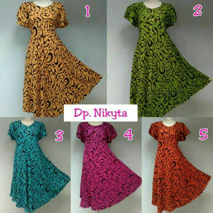 Jual Daster Payung daster batik pekalongan baju batik wanita ... 39ec1330cd