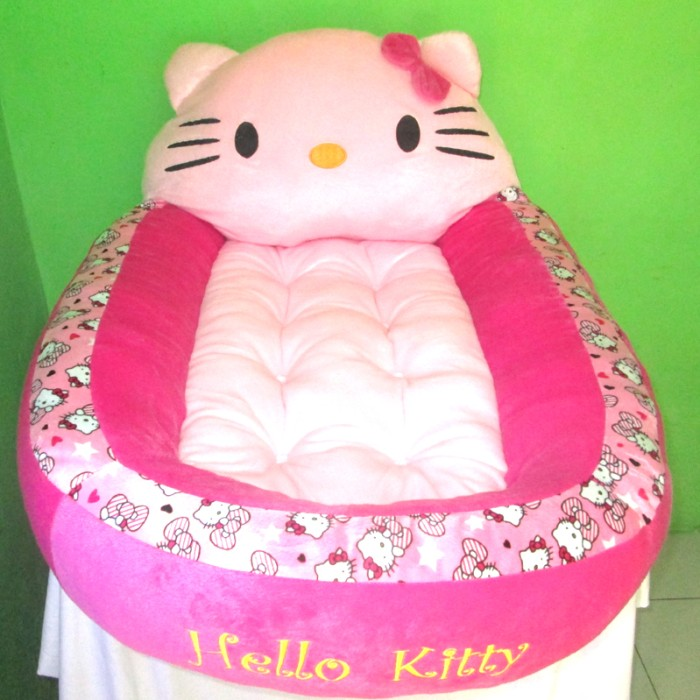 harga Kasur bayi karakter boneka hello kitty motif polkadot Tokopedia.com