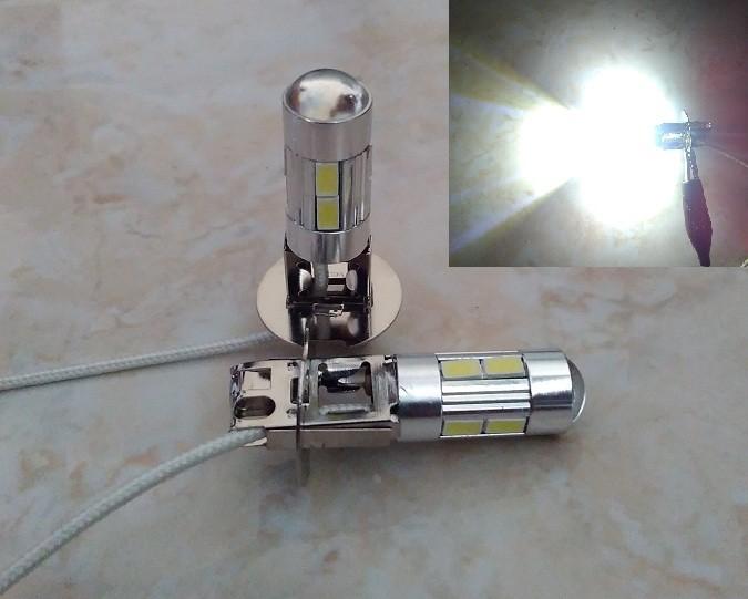 harga Lampu foglamp h3 led 10 titik lensa projector putih Tokopedia.com