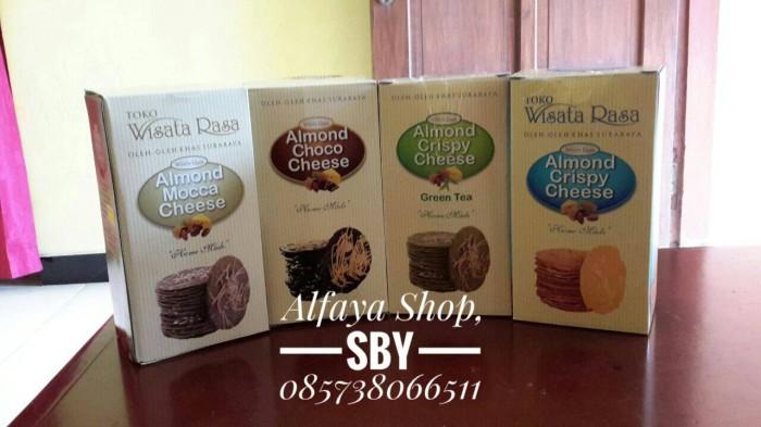 harga Almond crispy wisata rasa surabaya | cheese choco greentea Tokopedia.com