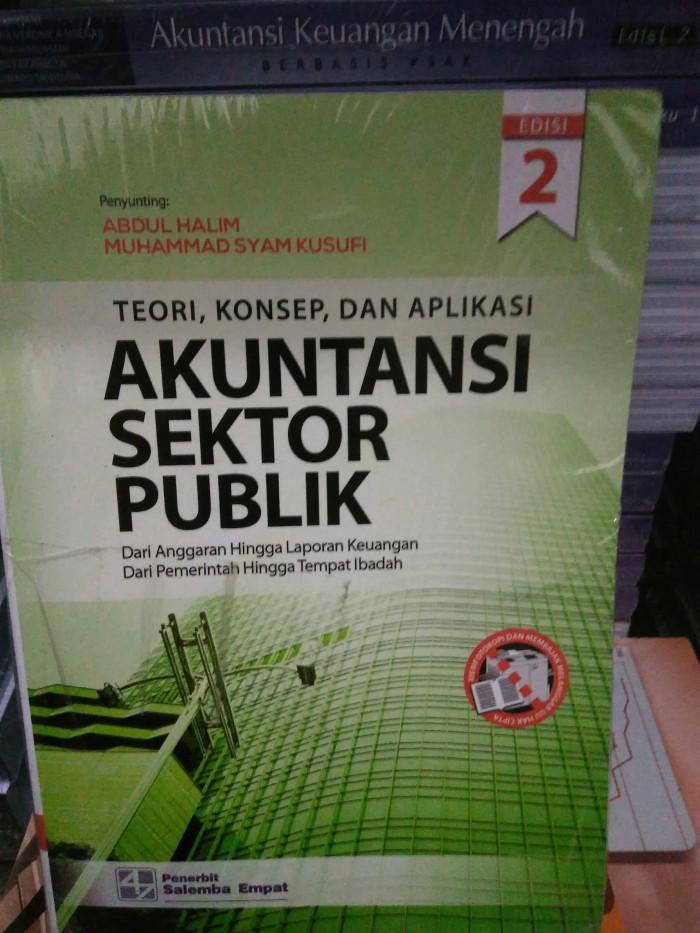 harga Teori konsep dan aplikasi: akuntansi sektor publik e2 Tokopedia.com