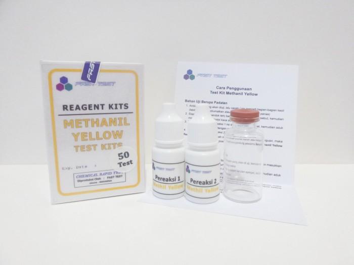 Foto Produk Alat Uji Cepat, Test Kit Methanil Yellow (Methil Yellow) Murah dari Fast Test
