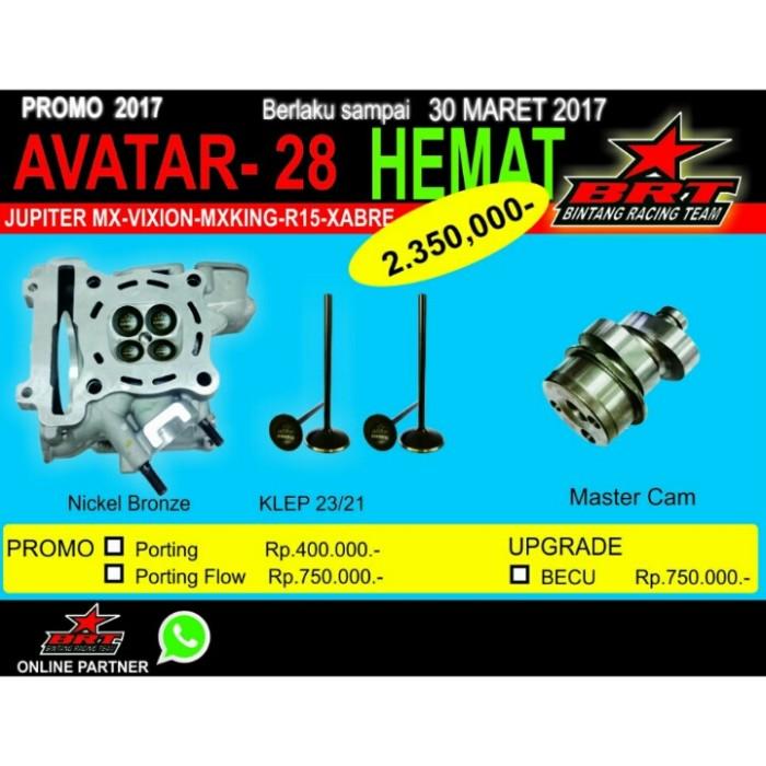 Yamaha Jupiter MX Head Nickelbronze 23/21 Klep Noken As (Avatar 28)
