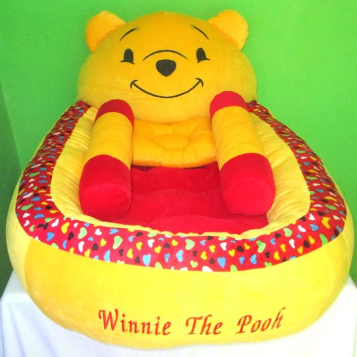harga Kasur bayi winnie the pooh polkadot + bantal guling Tokopedia.com