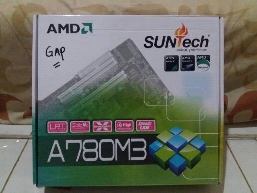 harga Motherboard am3 suntech a780m3 amd Tokopedia.com