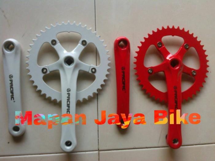 harga Crank sepeda fixie/roadbike t44 pasific alloy Tokopedia.com