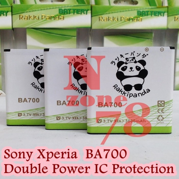 harga Baterai sony xperia experia ba700 neo pro tipo rakkipanda double power Tokopedia.com