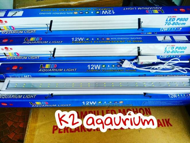 harga Lampu led yamano p800 70-80cm 12 watt aquarium / yamano p 800 70-80cm Tokopedia.com