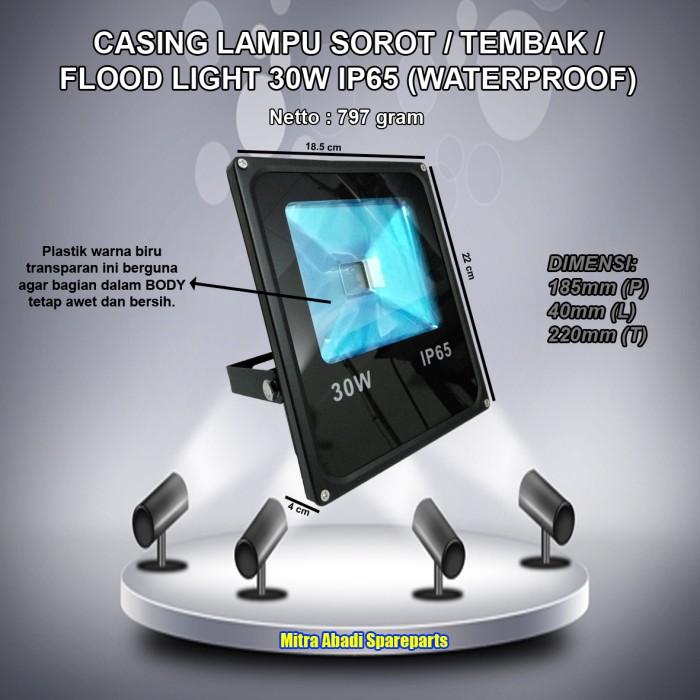 harga Casing lampu led sorot/tembak/flood light 30w/30 watt waterproof Tokopedia.com