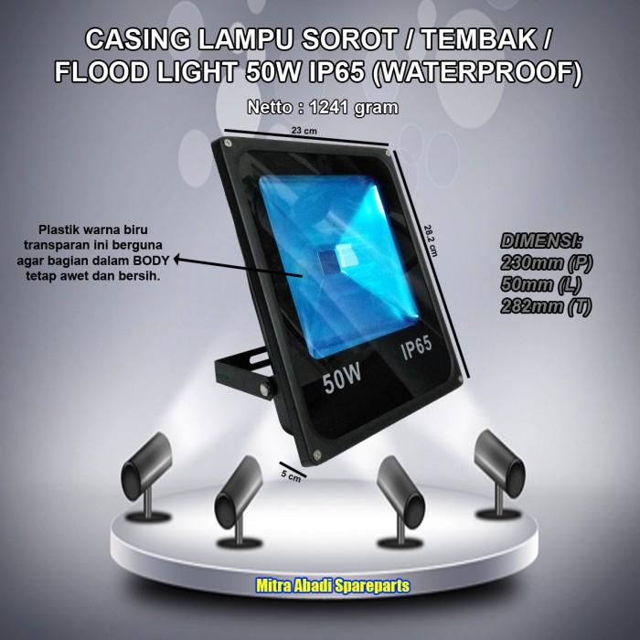 harga Casing lampu led sorot/tembak/flood light 50w/50 watt waterproof Tokopedia.com