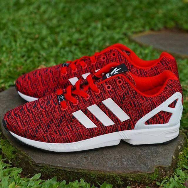 sports shoes 64f99 90e6b Jual ADIDAS ZX FLUX FLYKNIT RED / WHITE - DKI Jakarta - Bodat Store |  Tokopedia