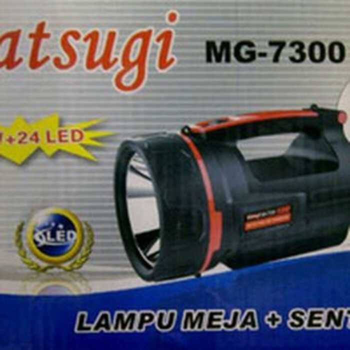 harga Senter matsugi 7300 -mg7300 Tokopedia.com