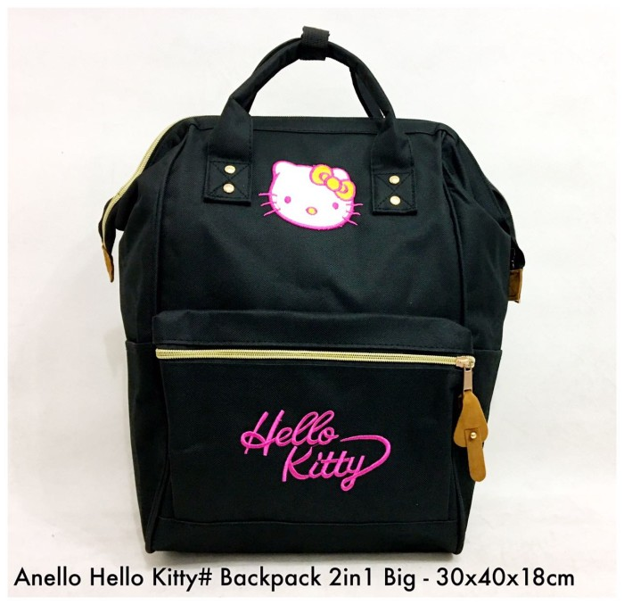 harga Tas import wanita import backpack anello hello kitty 2in 1 big - 7  Tokopedia. f9ee31a8d2fc1