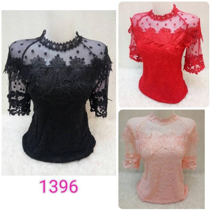 Jual Blouse   Baju   Atasan   Atasan Wanita   Blus   Brukat   Brokat ... 4aa3f87b47