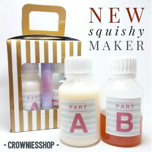 Squishy Maker Kit : Jual SQUISHY MAKER KIT // espak soft cairan bahan diy squishy - Crownie s Shop Tokopedia