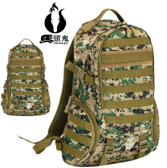 harga Tas gunung hijau loreng kamuflase import tactical army outdoor 35l Tokopedia.com