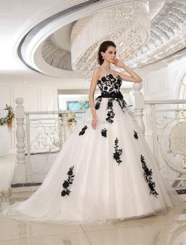 harga 1702032 putih hitam ekor gaun pengantin wedding dress Tokopedia.com