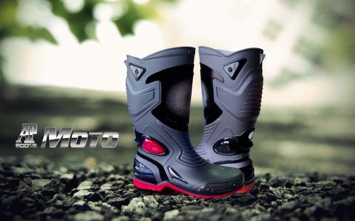 harga Sepatu touring cross trail balap drag anti air ap boots moto 3 Tokopedia.com