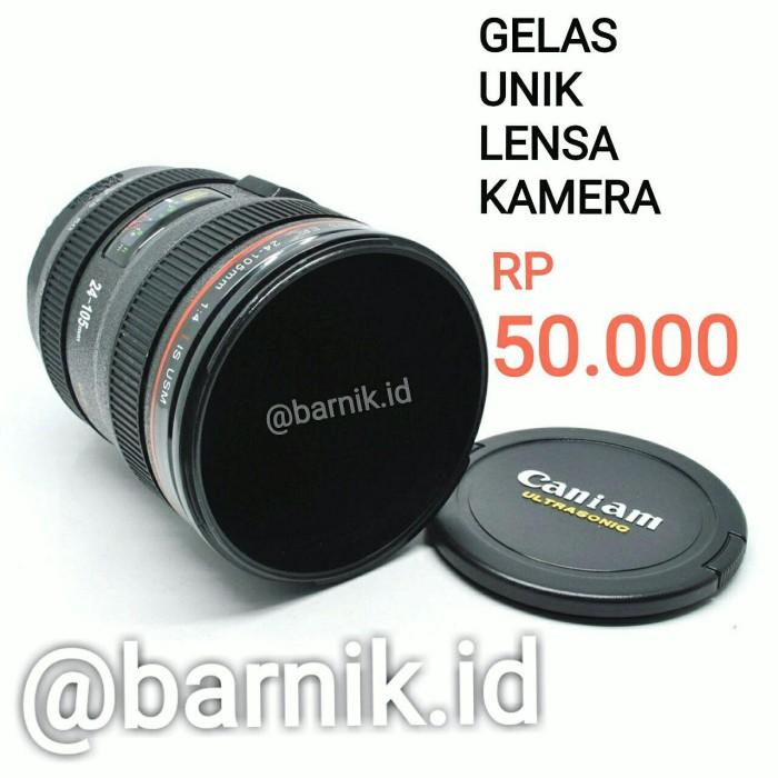 harga Gelas unik lensa kamera Tokopedia.com