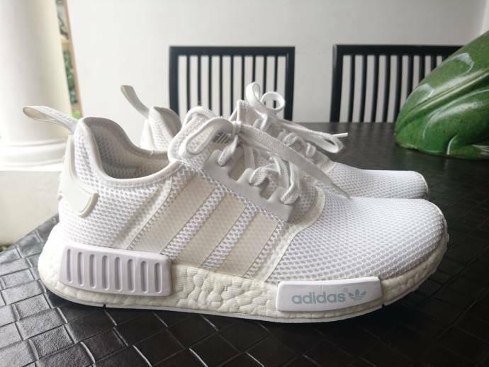 adidas nmd r1 white reflective