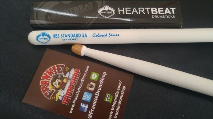 harga Heartbeat hbs5ahacw- 5a white hbs standard acorntip hickory stick drum Tokopedia.com