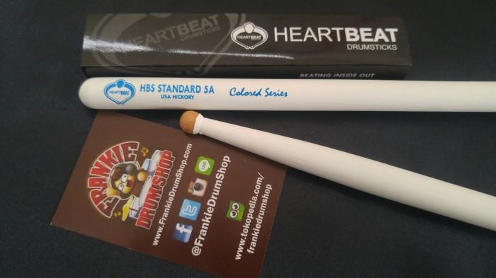 Foto Produk HeartBeat HBS5AHRCG - 5A Green HBS Standard RoundTip Hickory StickDrum dari FrankieDrumShop
