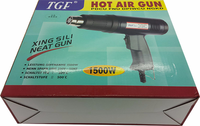 Heat Air Gun Adjustable Merk TGF , Hot air Gun , Blower Pemanas angin