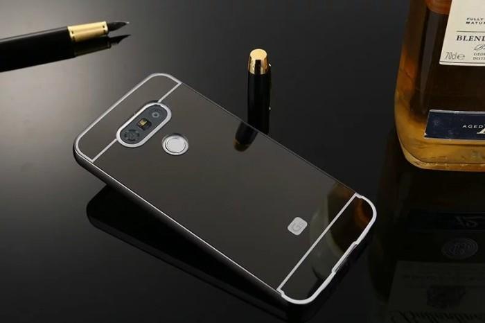 pretty nice 7666d 248f1 Jual Bumper Mirror Case LG G5 / Dual/Hardcase/Slide/Hard/Casing/Cover/Met S  - Kota Bogor - Kang Gagah   Tokopedia