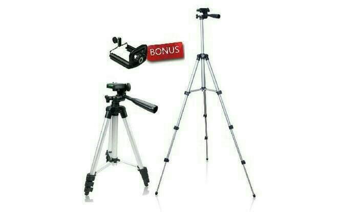 harga Tripod 1 meter + multifungsi hp&go pro Tokopedia.com