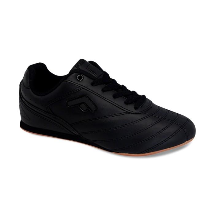 Jual Sepatu Olahraga   Sekolah Hitam Polos Fans Musi B - Sepatu Fans ... a7eca551be