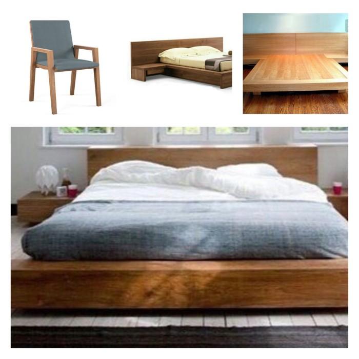Jual Paket Furniture Kursi 2, Tempat Tidur 3pc Kayu Jati