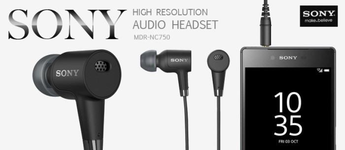 harga Sony mdr-nc750 high-resolution audio headset original Tokopedia.com