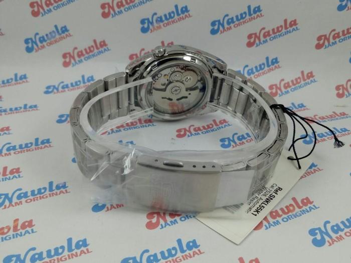 Seiko 5 SNKL55K1 Automatic Black Dial | Jam Pria SNKL55