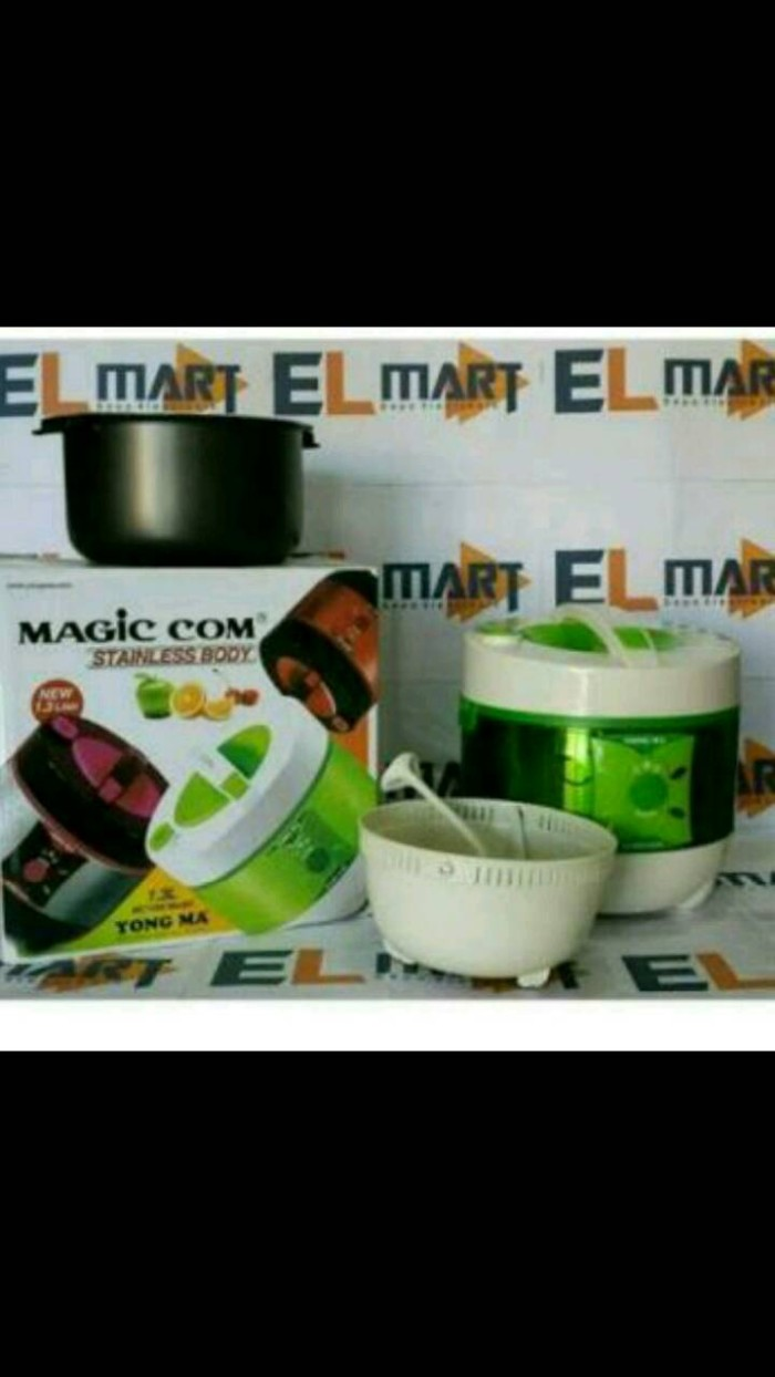 Jual Panci Magic Com Yong Ma Mc 1350 Original Ravian Tokopedia Rice Cooker Digital