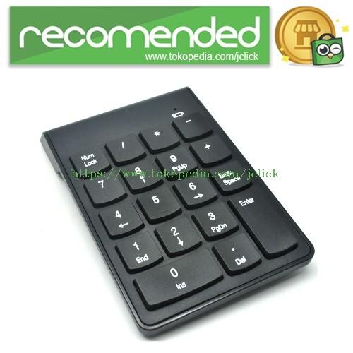 harga Keypad numeric wireless 2.4ghz 10 meter - black Tokopedia.com