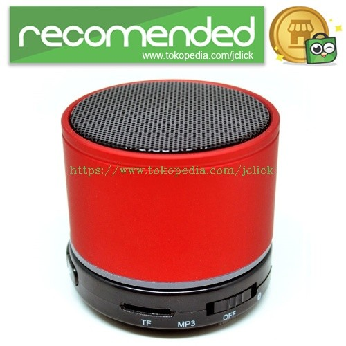 harga Mini Super Bass Portable Bluetooth Speaker - S11 - Red Tokopedia.com