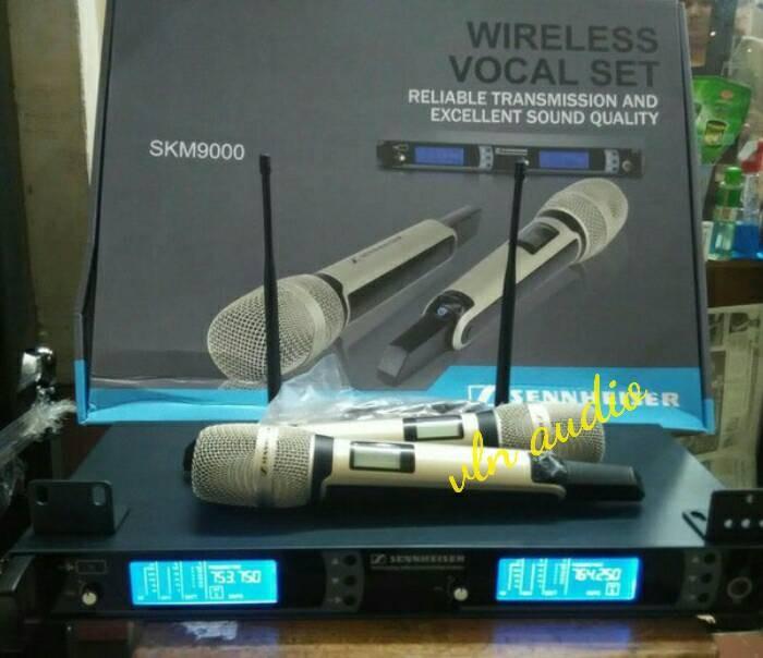harga Mic wireless sennheiser skm9000 ( bisa ubah frequency) Tokopedia.com
