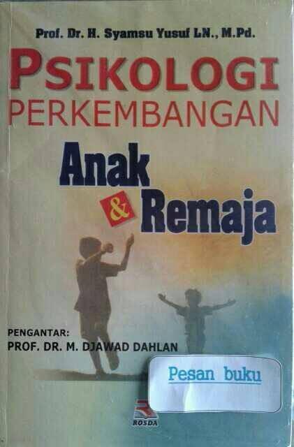 harga Buku psikologi perkembangan anak & remaja Tokopedia.com