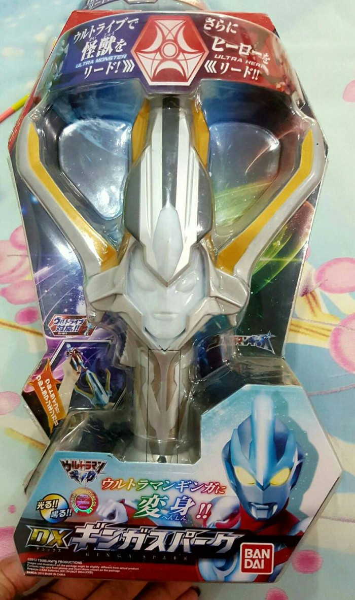 Jual Ultraman Ginga Dx Ginga Spark Bandai Jakarta Utara Bobo21 Tokopedia