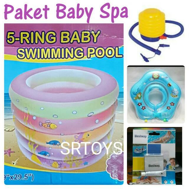 ... Bulat Kotak 4 Ring Variasi Kolam Neckring Pompa. Source · Kolam Baby Spa Paket Lengkap Murah