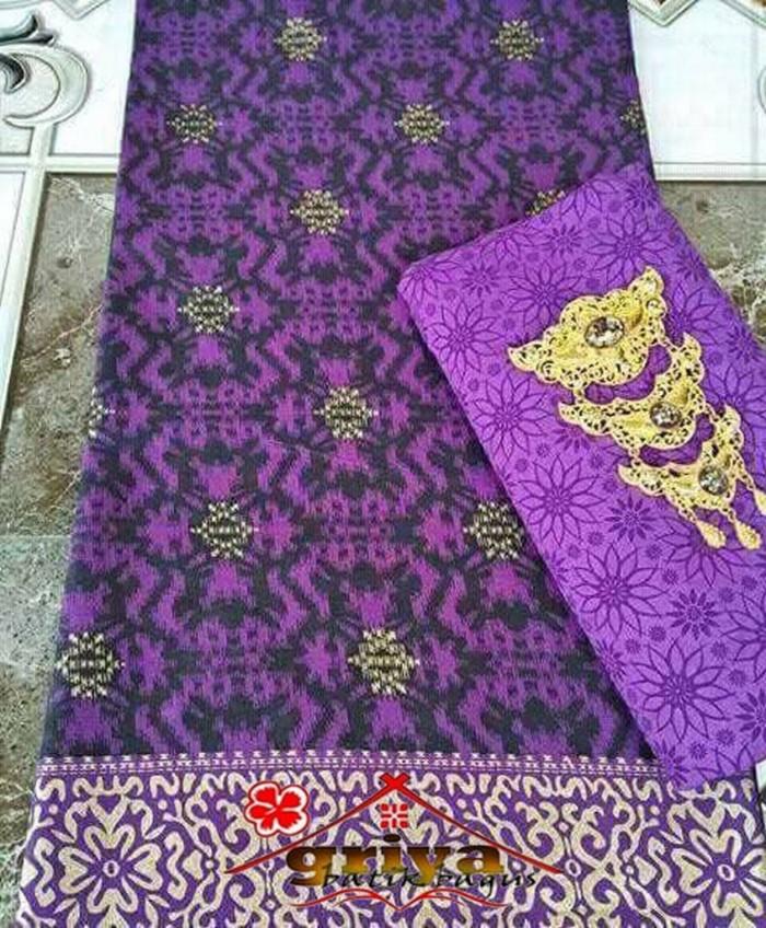 Jual Kain Batik Pekalongan dan Embos Warna Ungu Terbaru - Griya ... b1ed781a9e