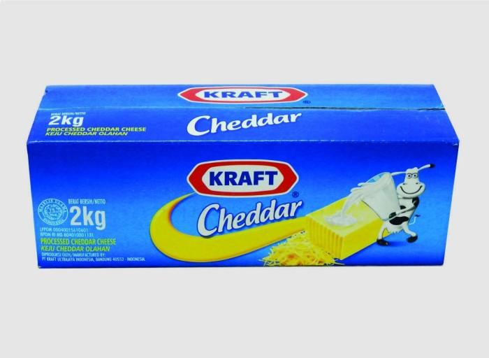 harga Keju cheddar kraft 2 kg Tokopedia.com