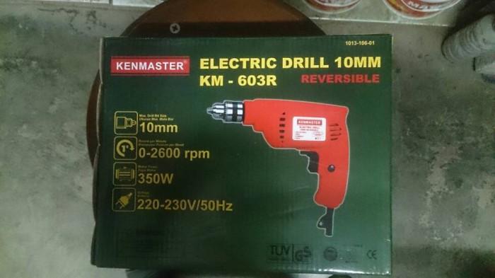 harga Mesin bor kenmaster listrik drill km-603r reversible bolak balik Tokopedia.com
