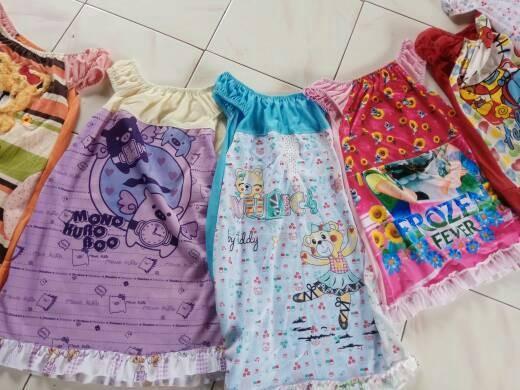 Jual daster anak harian grosir baju tidur anak baju harian anak ... e49e624fdc